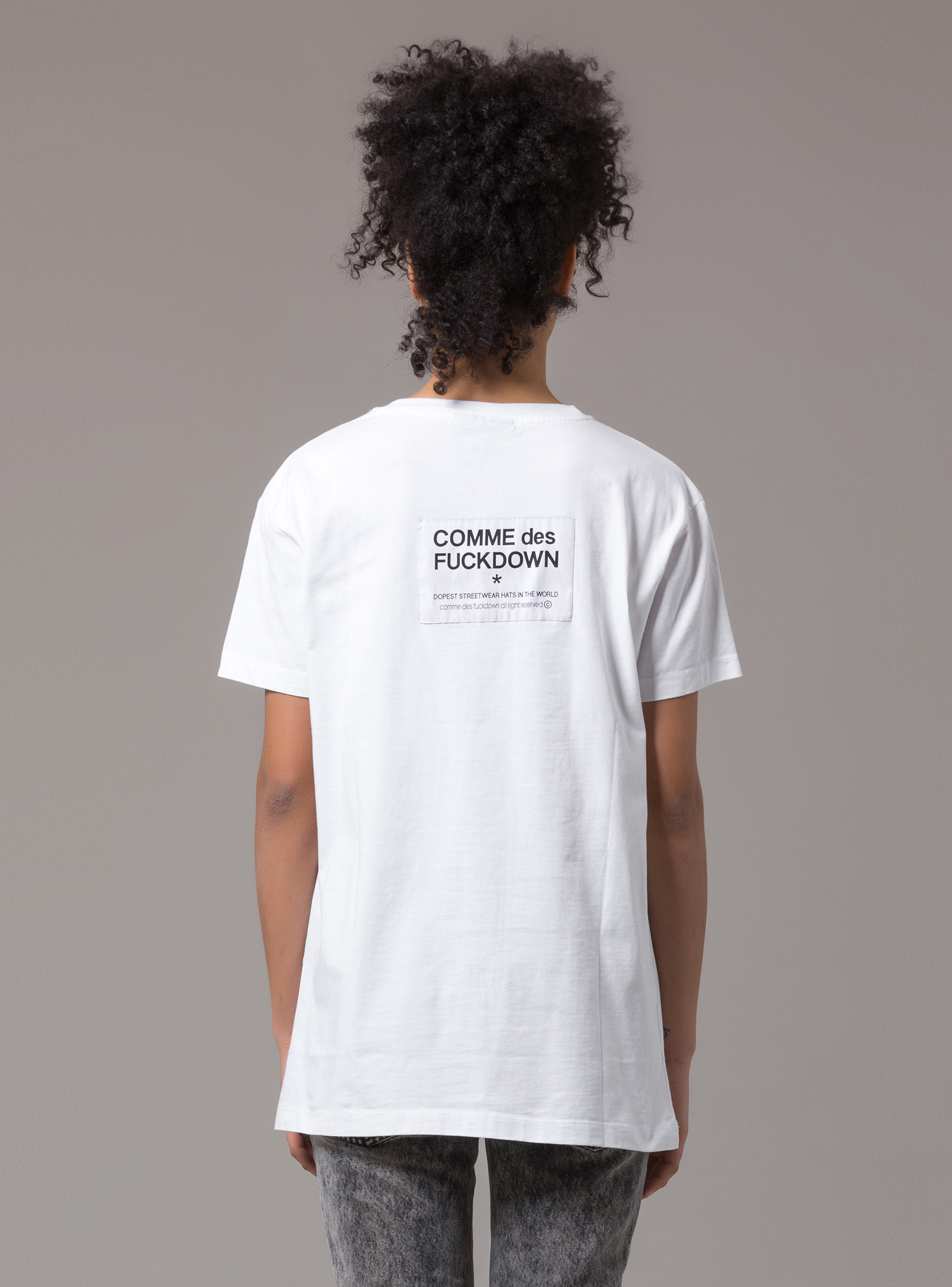 T-SHIRT - CDFD349 - COMME DES FKDOWN