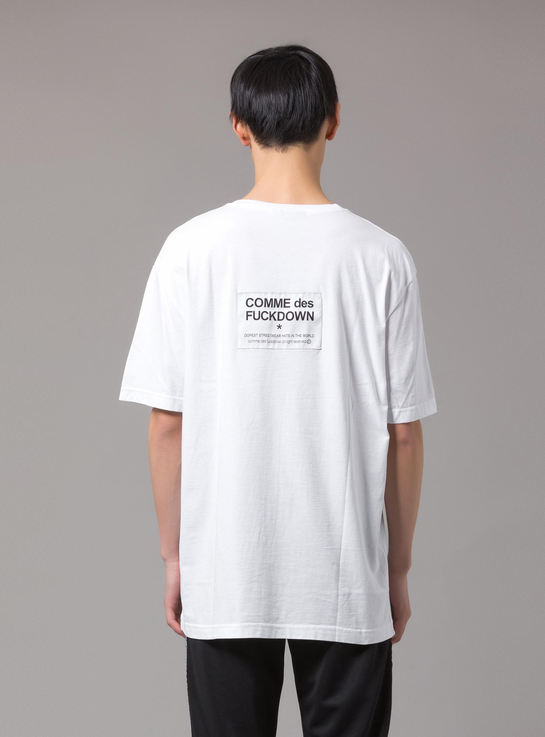 T-SHIRT - CDFU206 - COMME DES FKDOWN