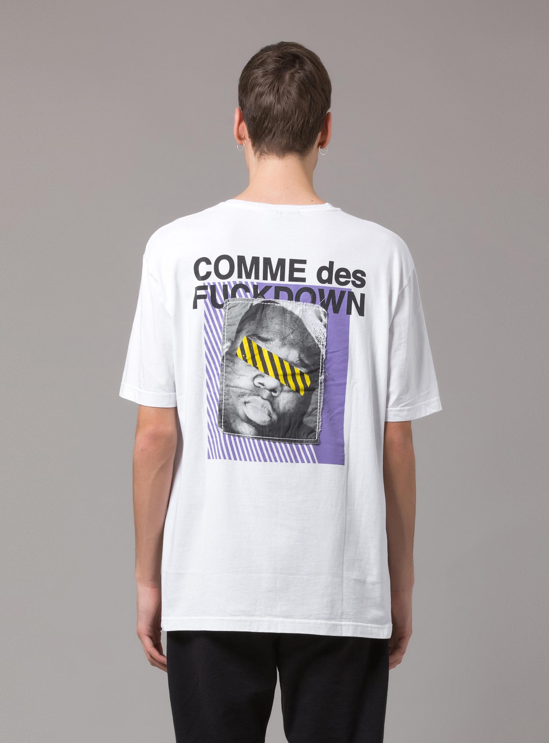 T-SHIRT - CDFU248 - COMME DES FKDOWN