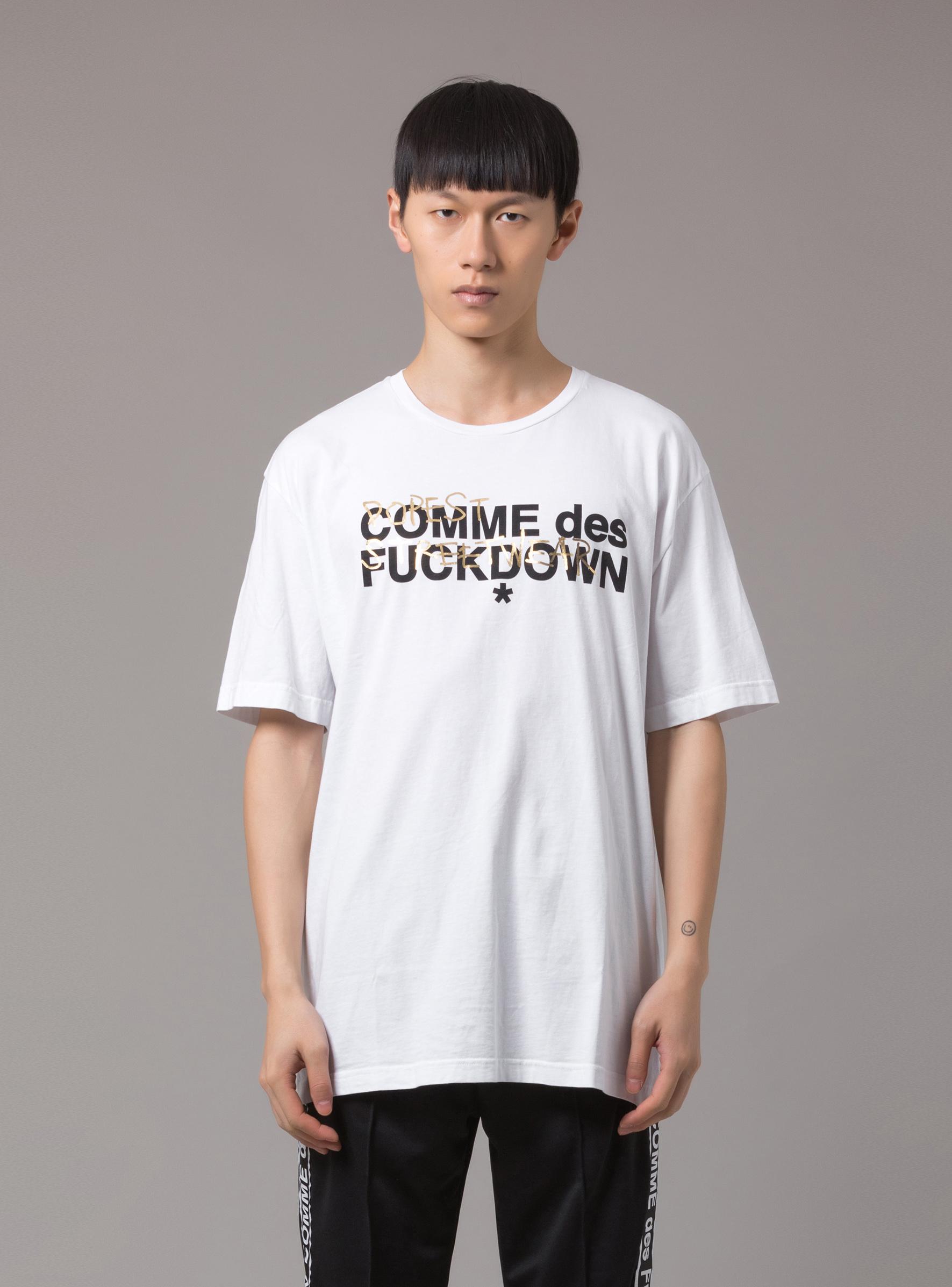 T-SHIRT - CDFU264 - COMME DES FKDOWN
