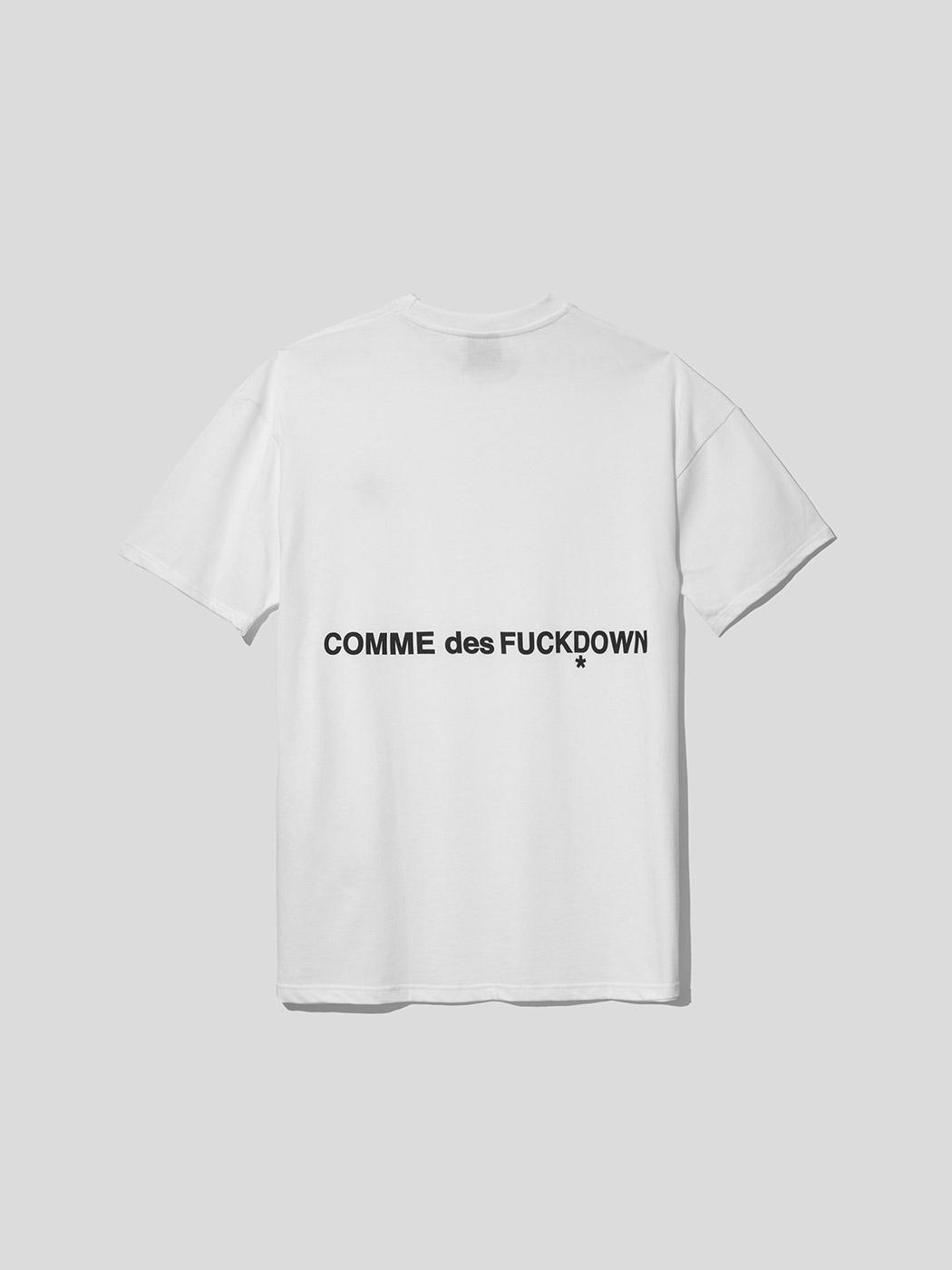 T-SHIRT - CDFU1242 - COMME DES FKDOWN