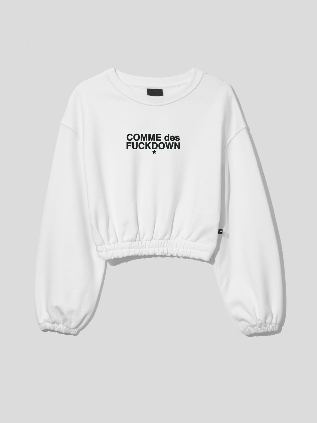 SWEATSHIRT - CDFD1539 - COMME DES FKDOWN