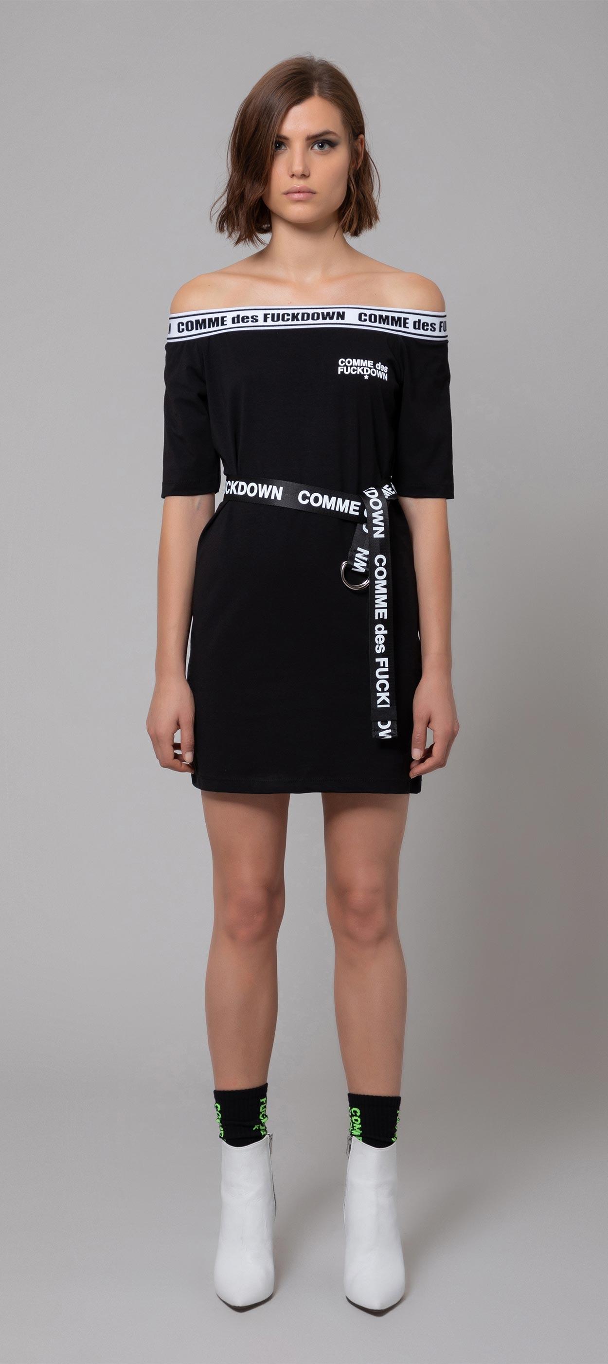 DRESS - CDFD579 - COMME DES FKDOWN