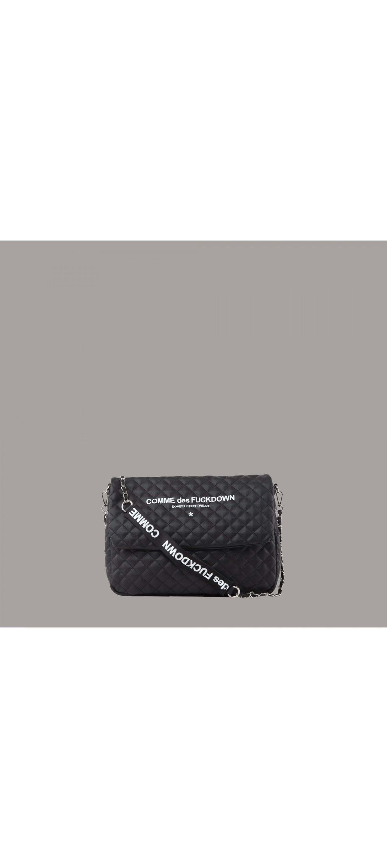 SHOULDER BAG - CDFA03NB - COMME DES FKDOWN