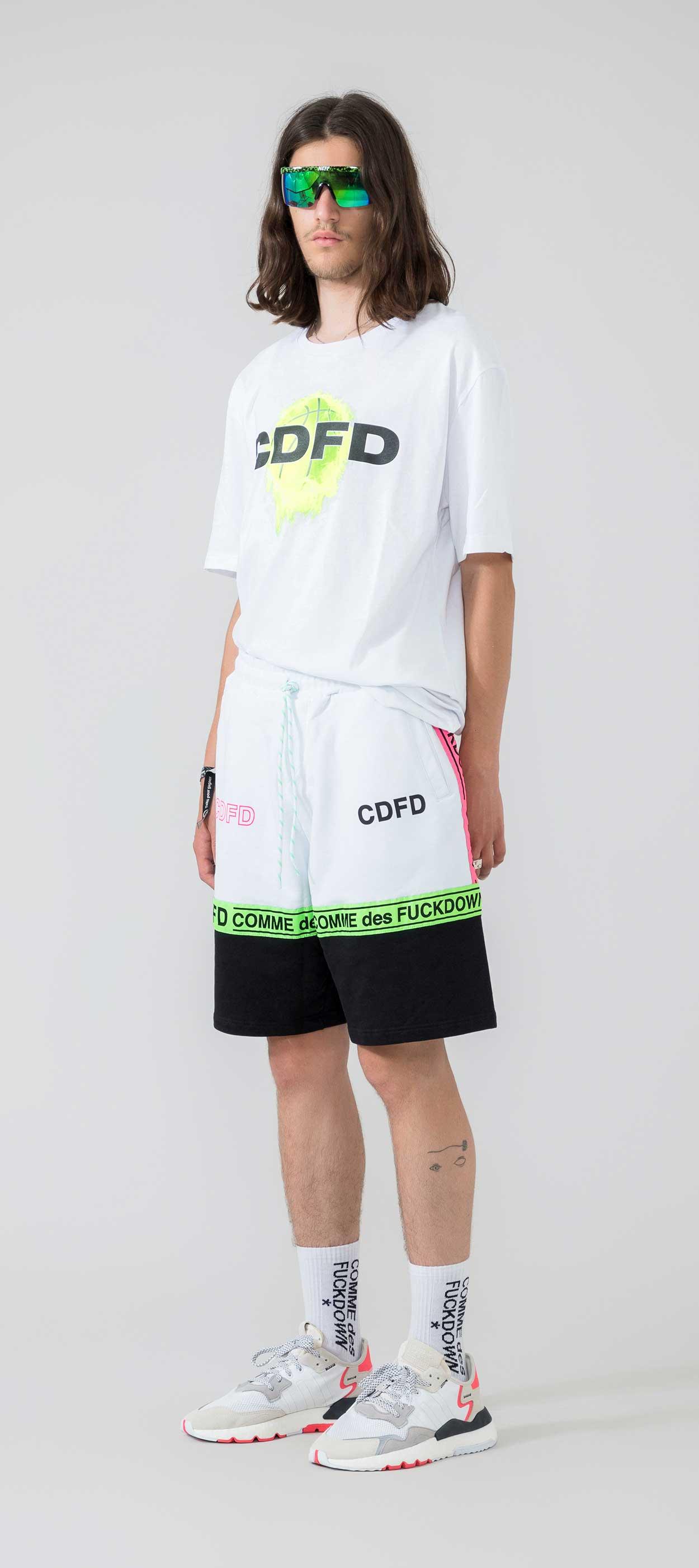 SHORT - CDFU742 - COMME DES FKDOWN