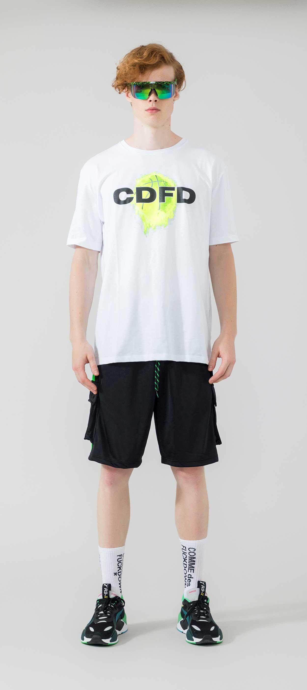T-SHIRT - CDFU807 - COMME DES FKDOWN
