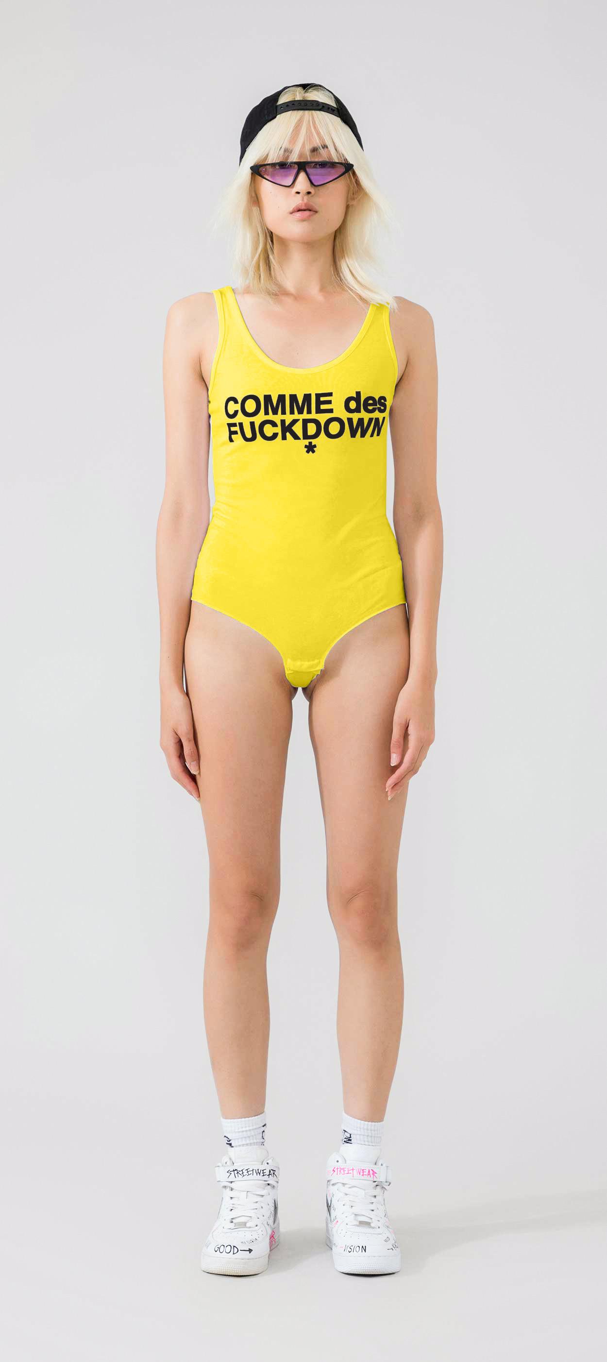 BODY - CDFD917 - COMME DES FKDOWN