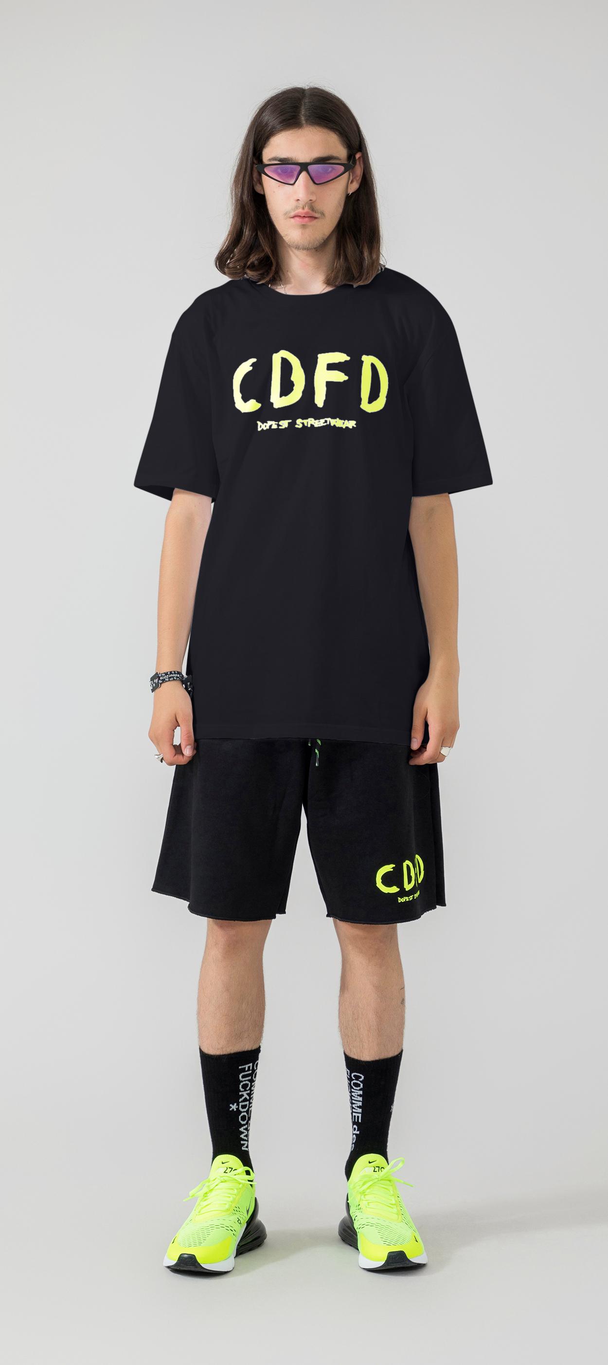 T-SHIRT - CDFU762 - COMME DES FKDOWN