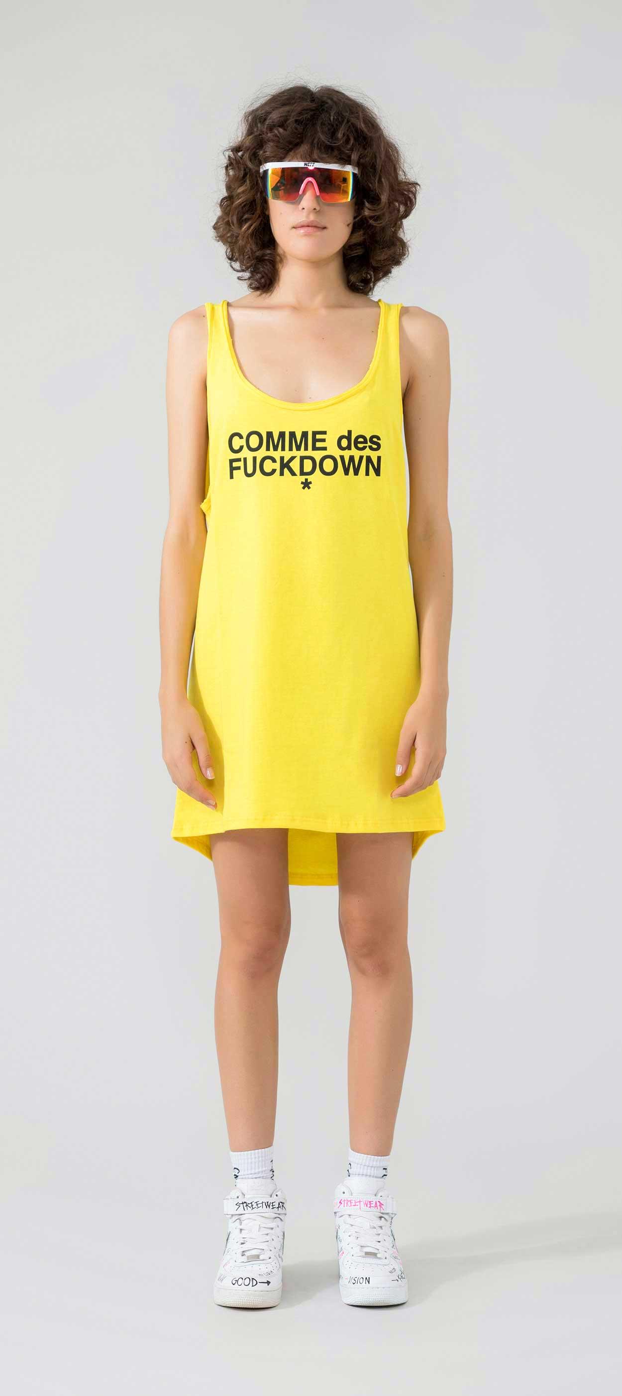 DRESS - CDFD915 - COMME DES FKDOWN